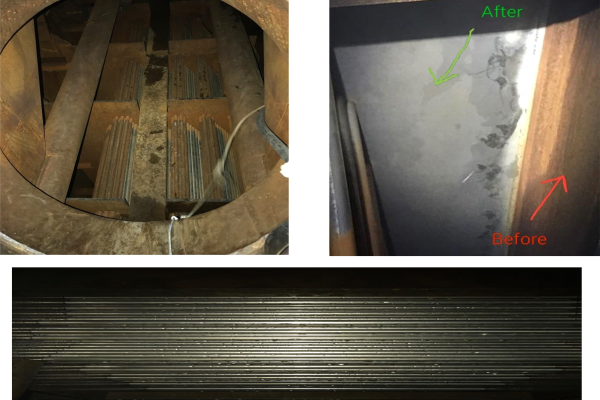 Steam Condenser • Before and After